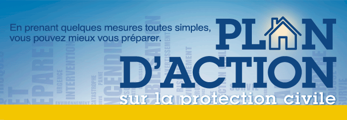 Plan d'action sur la protection civile